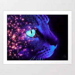 Hunter of the Night Art Print