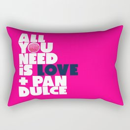 All you need is love & pan dulce Rectangular Pillow
