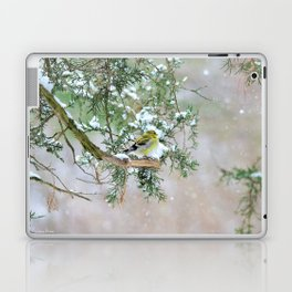 Lost in Time: April Snowstorm Laptop & iPad Skin