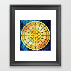 Radiant Sun Framed Art Print