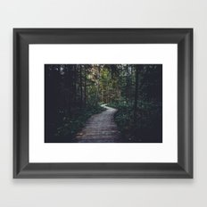 Path Unknown Framed Art Print