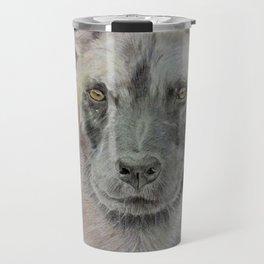 Wild African dog Travel Mug