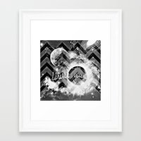 forever young Framed Art Prints featuring forever young by haroulita