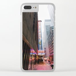 Radio City Music Hall Clear iPhone Case