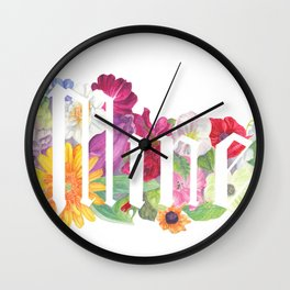 Mine Wall Clock