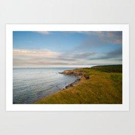 Schooner pond Cape Breton Art Print