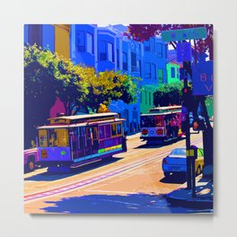 San Francisco 002 Metal Print