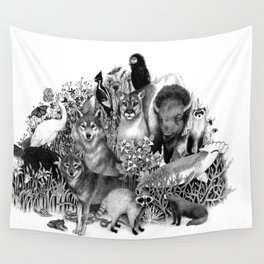 Endangered Wall Tapestry