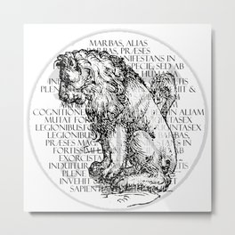Hierarchia Inferni - Marbas Metal Print