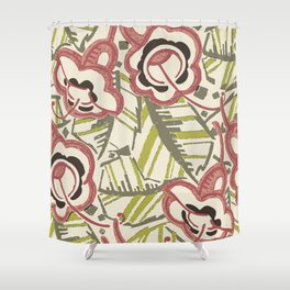 Floridian Deco Shower Curtain
