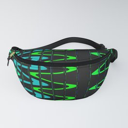 Waves and Zigzags Fanny Pack