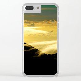 Wispy Clouds Clear iPhone Case