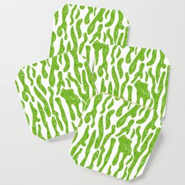 Splattered Slime [WHITE] Coaster