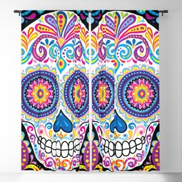 Sugar Skull (Cosmos) Blackout Curtain
