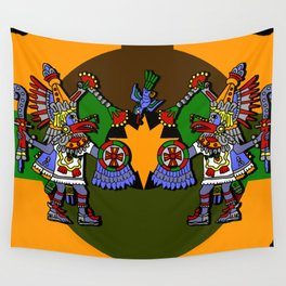 Aztec Rite Wall Tapestry