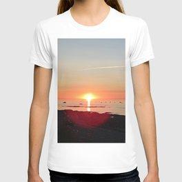 Kayak and the Sunset T-shirt