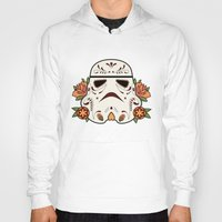 mexican Hoodies featuring Mexican Sugartrooper by Sophia Fredriksson Illustration