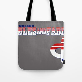 """""""New England"""" Tables and Fables Tote Bag"""