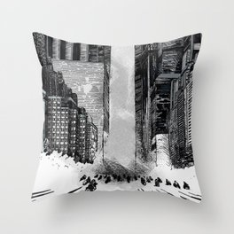 Homage to Akira Throw Pillow