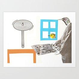 Controller Art Print