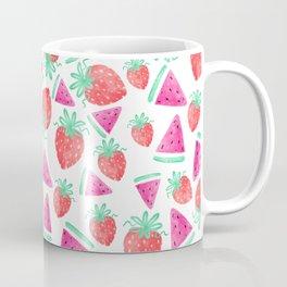 Watermelon + Strawberry Coffee Mug