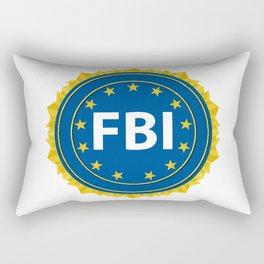 FBI Seal Rectangular Pillow