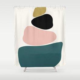gemstones 1 Shower Curtain
