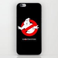 ghostbusters iPhone & iPod Skins featuring Ghostbusters by IIIIHiveIIII