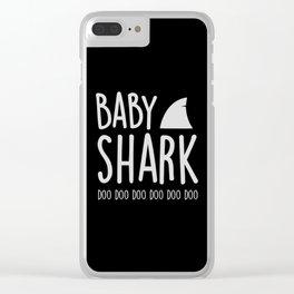 Baby Shark Clear iPhone Case