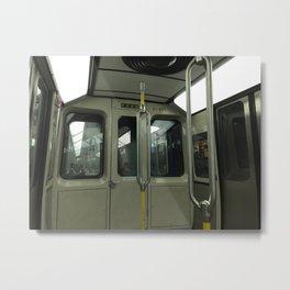 Metro Fluxes Metal Print