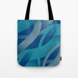 Riptide - Abstract Tote Bag
