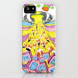 Resurrection Of Dead Technology iPhone Case