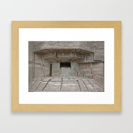 Jersey War Bunker Framed Art Print
