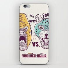 Luchadores iPhone & iPod Skin