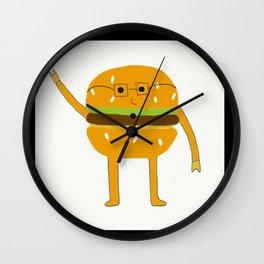 Mr.Burger Wall Clock
