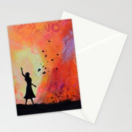 Bursting forth in Praise Stationery Cards