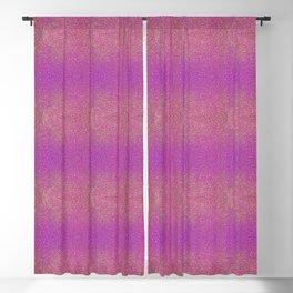 Glitter In Pink (Pattern) Blackout Curtain
