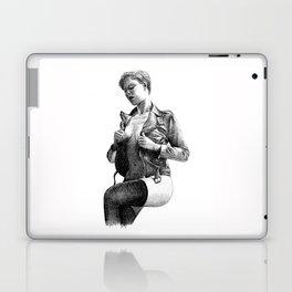Leather Laptop & iPad Skin