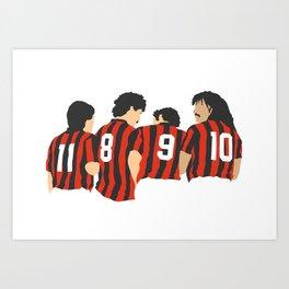 Vintage Milan Art Print