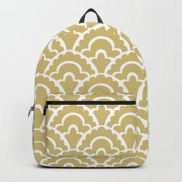 Fan Pattern Gold 117 Backpack
