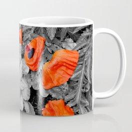 Fallen Poppies Coffee Mug