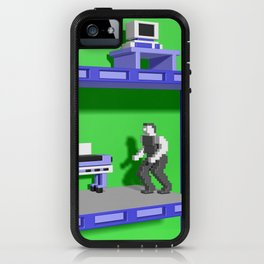 Inside Impossible Mission iPhone Case