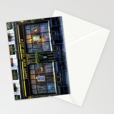 Happy new year 2014 pub Stationery Cards