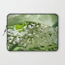 White Lilacs Laptop Sleeve