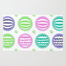 Sugar Treats Pattern Print Rug