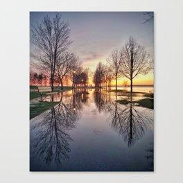 Glass Path 2 Canvas Print