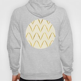 Cream Gold Foil 05 Hoody
