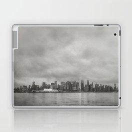 Vancouver Raincity Series - Raincity i - Moody Downtown Vancouver Cityscape Laptop & iPad Skin