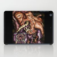 in the flesh iPad Cases featuring Parasitic Flesh by Daniel Garrett's Fantasy Art Studio
