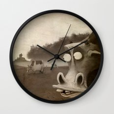 a morning without sun Wall Clock